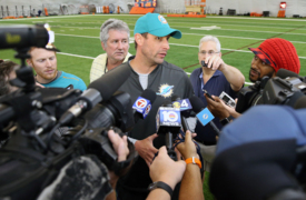 Dolphins coach Adam Gase talks about what he's learned during OTAs