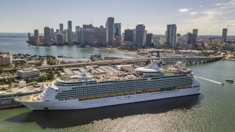Even cruise ships can get frumpy. But look what $100 million can do.