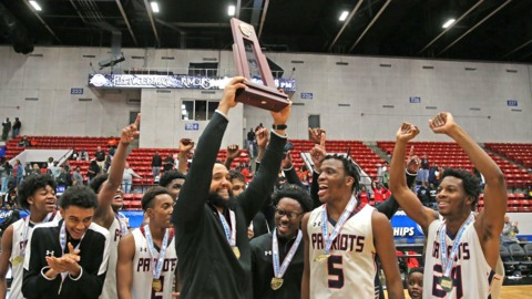 Miramar boys' basketball wins state title