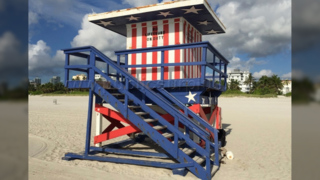 Miami Beach is selling some of its lifeguard towers