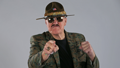 Interview with WWE legend Sgt. Slaughter about WrestleMania Tampa