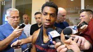 Miami Heat Hassan Whiteside says 'I don't get caught up into my scoring'