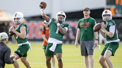 Podcast: What have we learned from the first week of Miami Hurricanes spring practice?