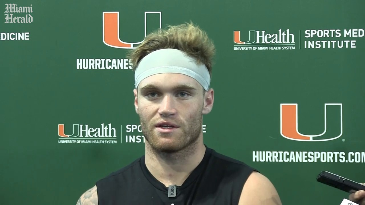 Diaz: Miami QB Tate Martell taking another leave of absence but is still a Hurricane