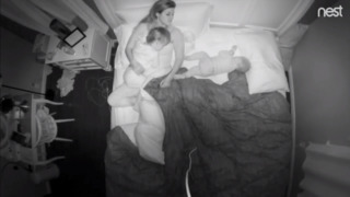 Why moms wake up tired: Brutally honest overnight time-lapse