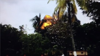 Video shows large explosion after Cuban plane crashed in Havana