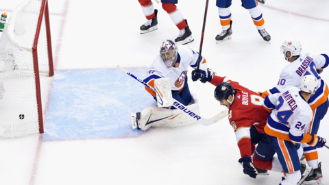 Aaron Ekblad, Brian Boyle break down Panthers' Game 3 win against Islanders
