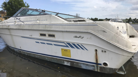 On the Miami River, boats are abandoned and fall into disrepair. What can be done?