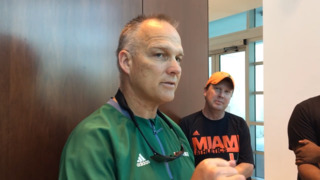 Mark Richt after first spring scrimmage