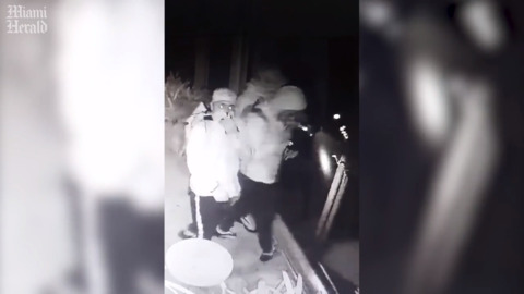 Chileans taking 'burglary tourism' jaunts in South Florida. Haul includes one guy's entire safe.