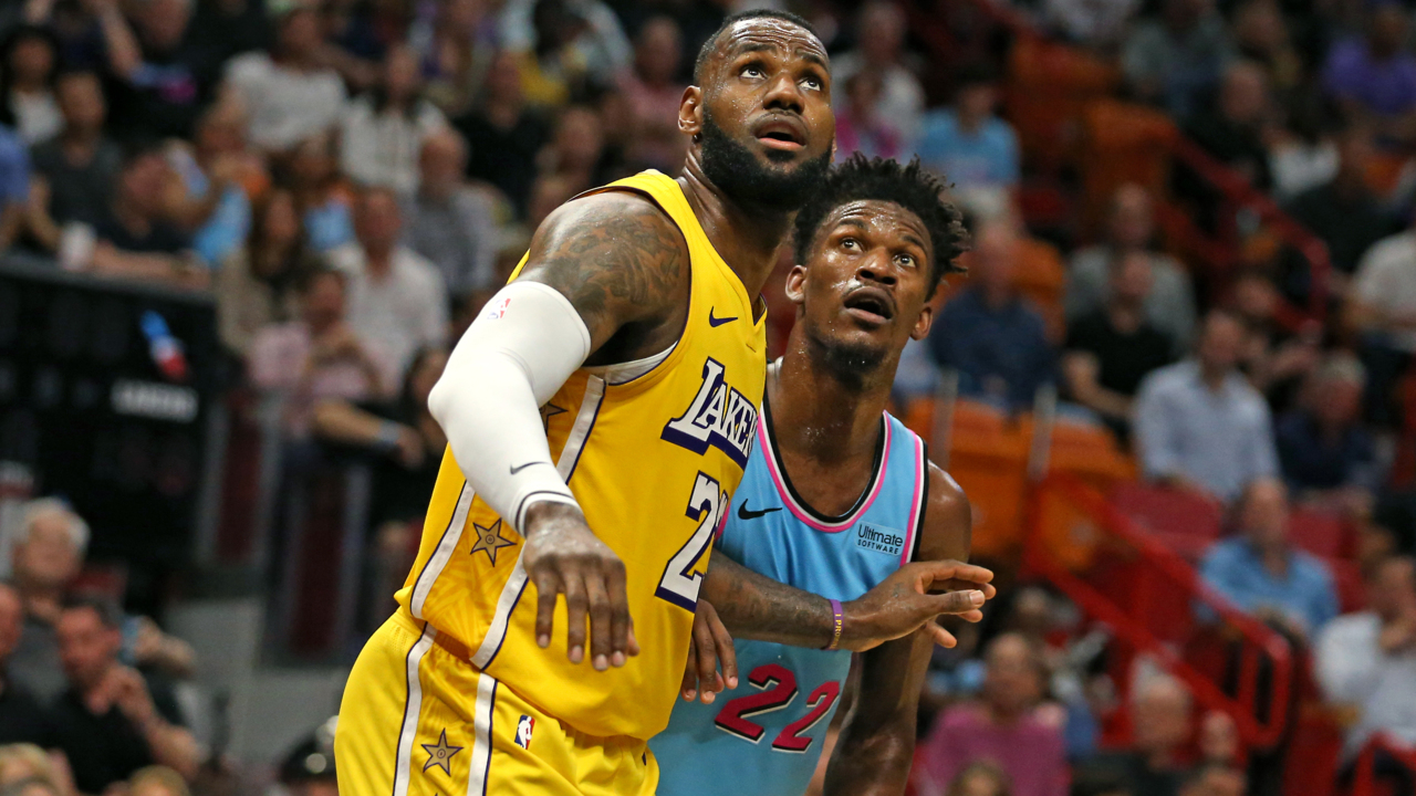 Lakers forward LeBron James on playing against Jimmy Butler