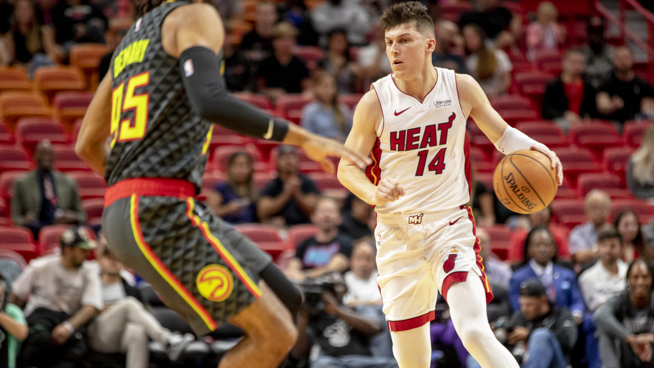 Tyler Herro just accidentally revealed the new Miami Heat Vice jerseys