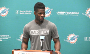 Miami Dolphins Isaiah Ford about recovering from last year's injury