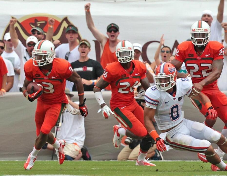 The good, the bad and a lot of ugly mark the Canes-Gators rivalry. More on tap Saturday