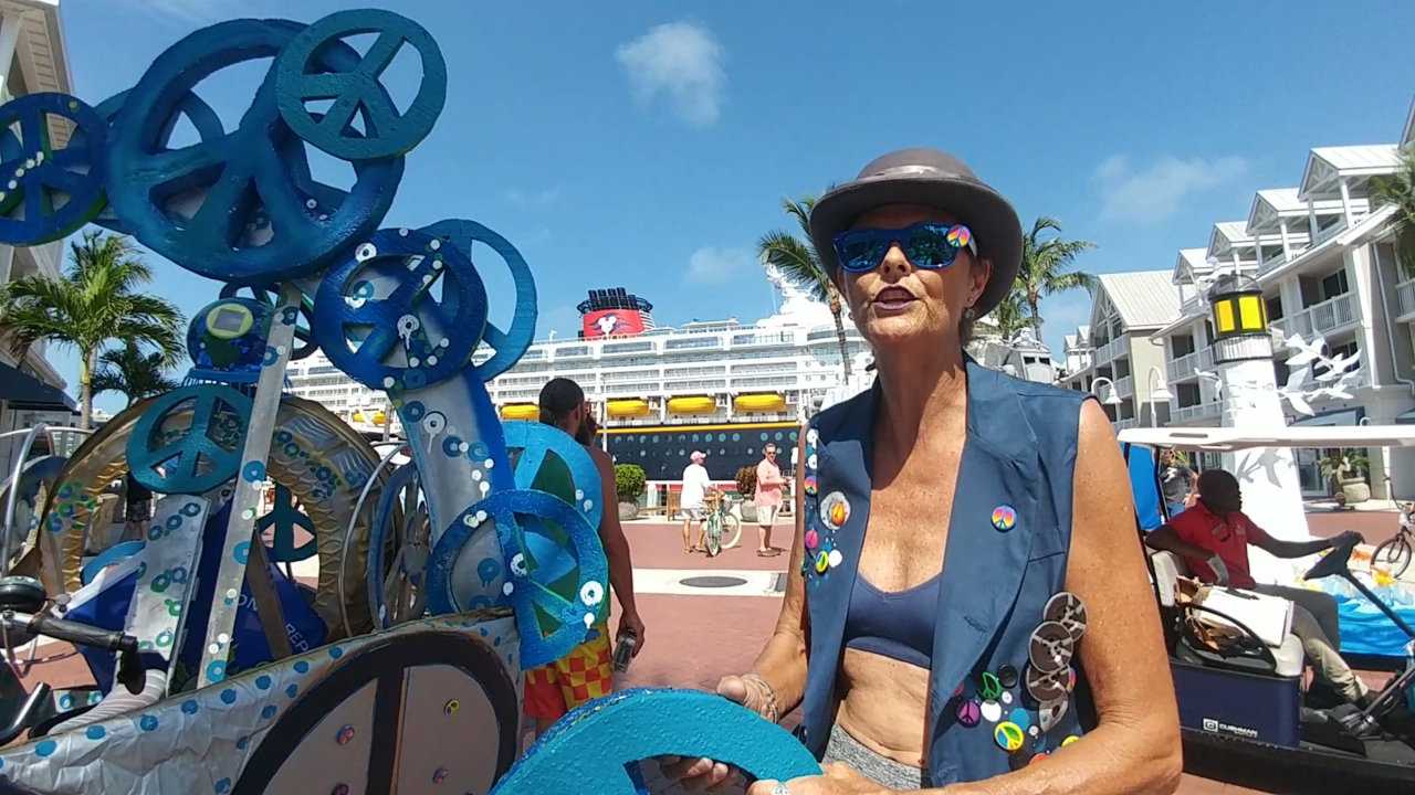 Key West puts on a parade of 'human-powered' sculpture