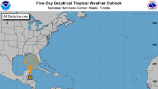 Forecasters upgrade tropical system's chance of strengthening