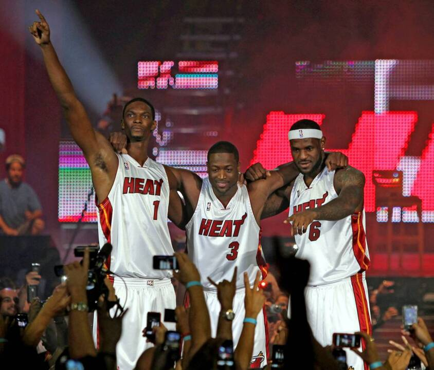 6e317f479 Miami Heat to retire Chris Bosh jersey on March 26 vs. Magic
