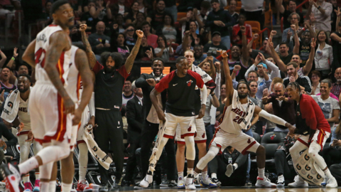 Miami Heat rips off 21-0 run to pick up a critical win against the Detroit Pistons