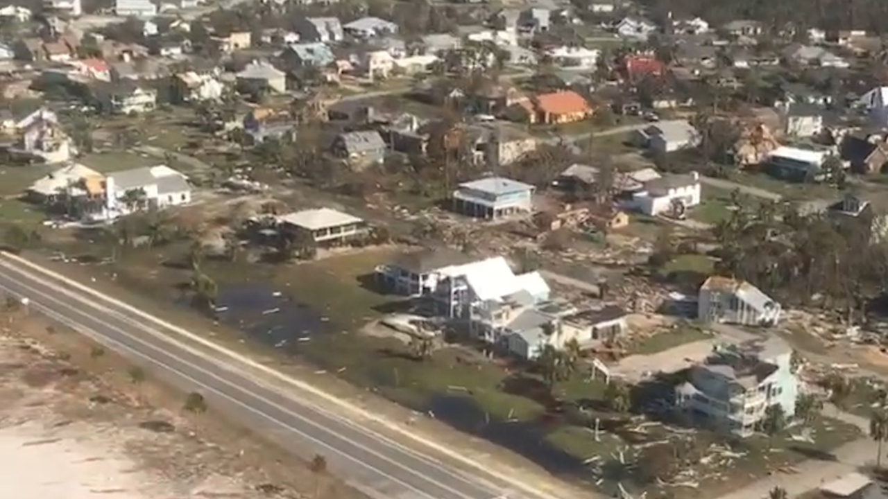 U.S. Coast Guard respond to Hurricane Michael