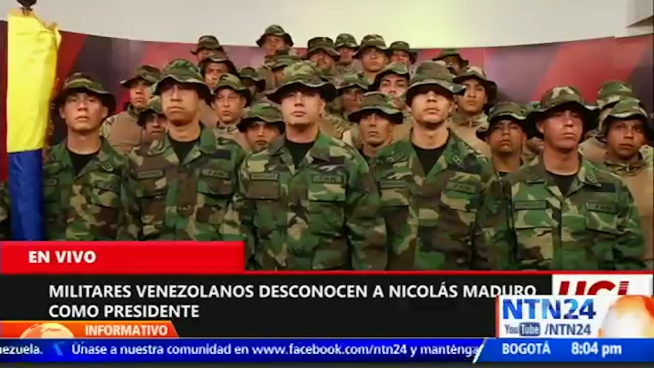 Venezuela's military could turn on Nicolás Maduro, according to officials in exile