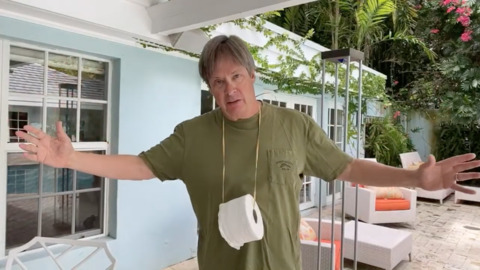 Dave Barry self-quarantines his way