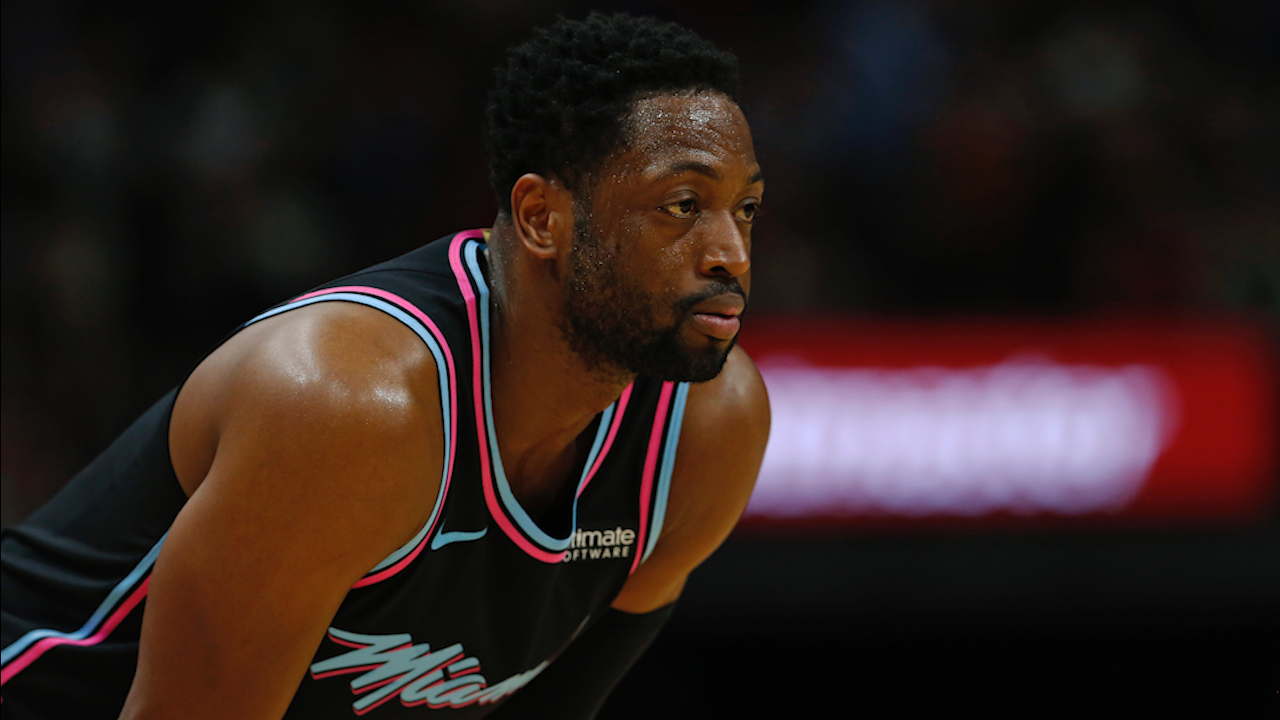 6f6cd9cca Pat Riley among those at All-Star Weekend for Dwyane Wade