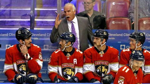 Panthers coach Quenneville gets his 900th career victory