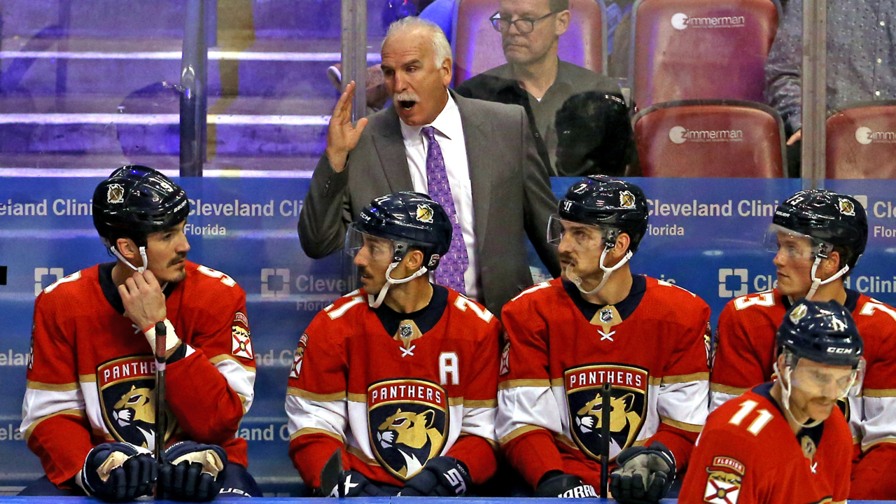 Florida Panthers top the Rangers 4-3 in coach Joel Quenneville's 900th career win