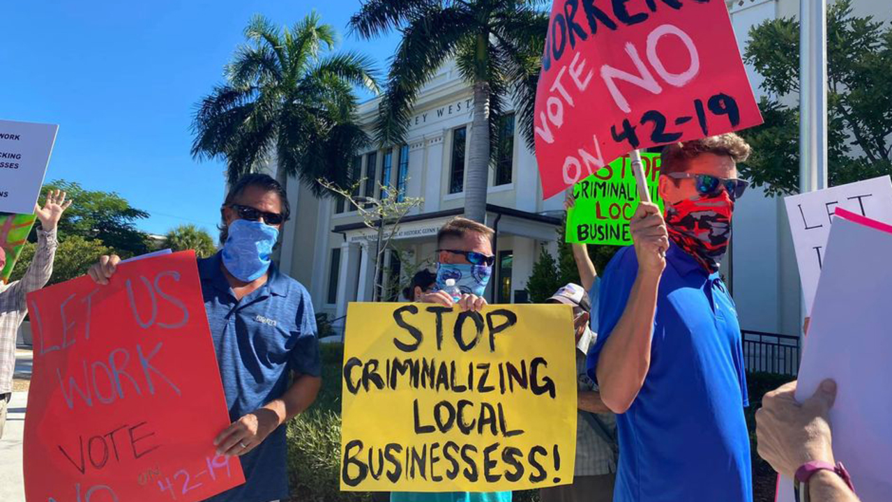 Key West loosens its mask law a bit when it comes to wearing them outside
