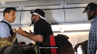 Fight breaks out on American Airlines flight after man demands more beer