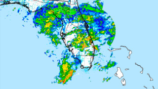 Tropical disturbance drenches South Florida