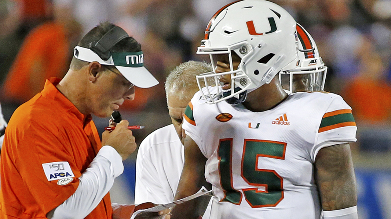 Only 11 days later, Miami QB Jarren Williams — about to face UNC — feels like a new man