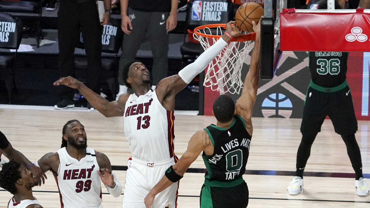 Butler, Adebayo late-game highlights lift Heat past Celtics