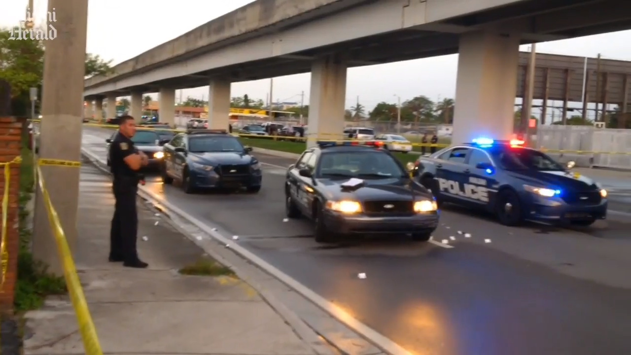 A dramatic car chase and 128 police bullets. Family sues Hialeah cops over fatal shooting.