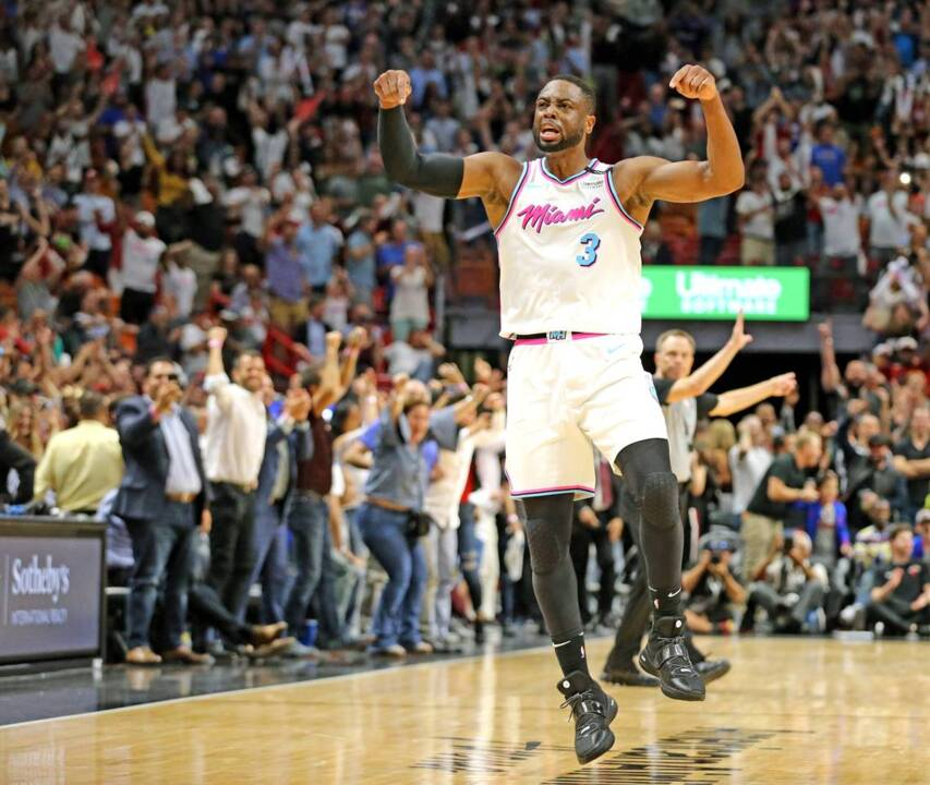 Heat's Dwyane Wade felt like he played 'with angels in the