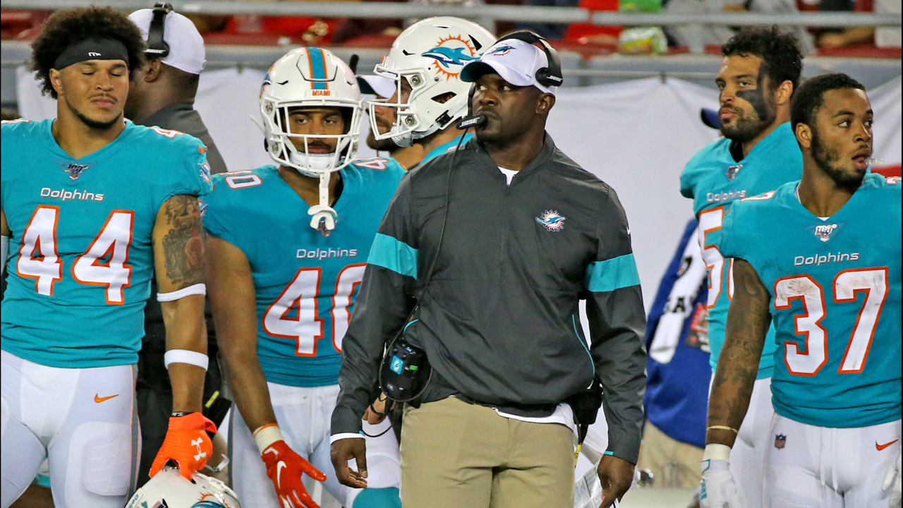 The message Miami Dolphins coach Brian Flores delivered to his team this week