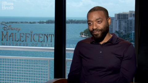 Entrevista con el actor Chiwetel Ejiofor de 'Maleficent: Mistress of Evil'