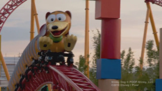 Check out the new Slinky Dog Dash roller coaster at Disney's Hollywood Studios