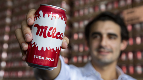 Nicaraguan Milca red soda finds a home in Miami