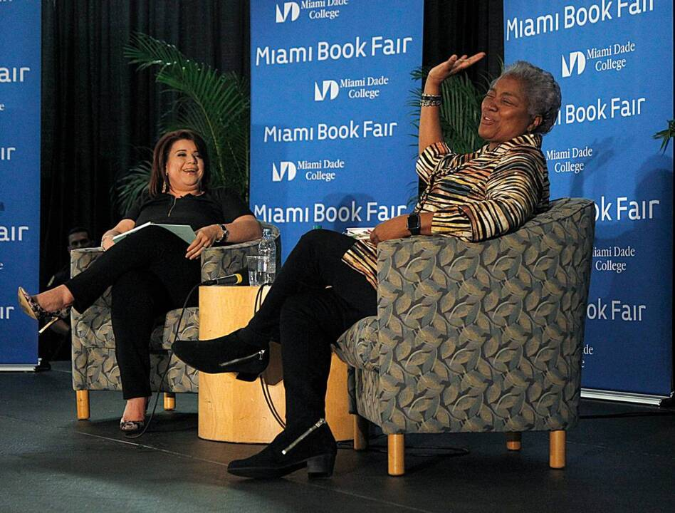 Bill Clinton's accusers deserved to be heard, Donna Brazile says during Miami visit