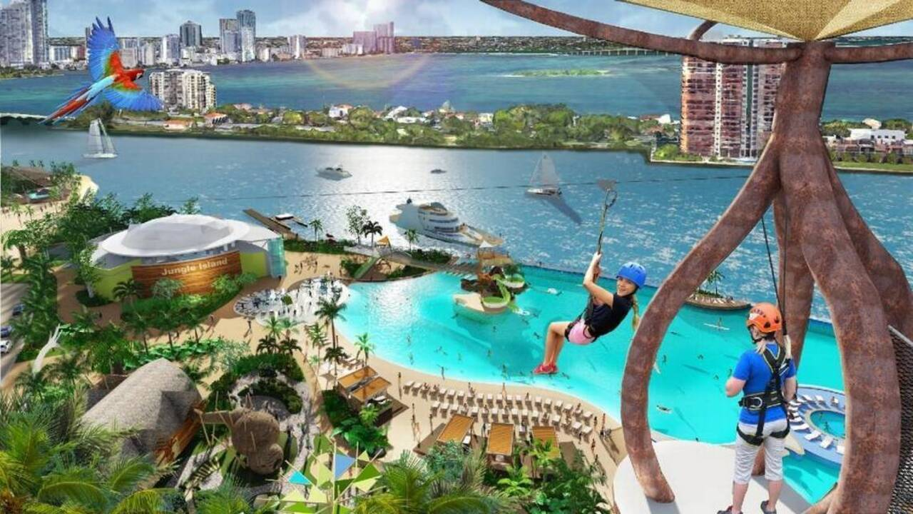 Jungle Island Is Getting A New Ideny An Action Adventure Park Miami Herald