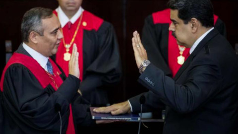 Maduro takes presidential oath for second term in Venezuela