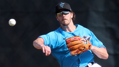 Marlins third baseman Brian Anderson excited to be back in spring training