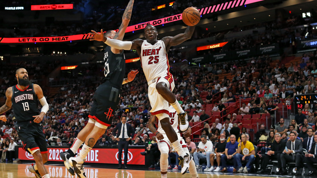 Kendrick Nunn stars in preseason finale, but James Harden dominates Jimmy-less Heat