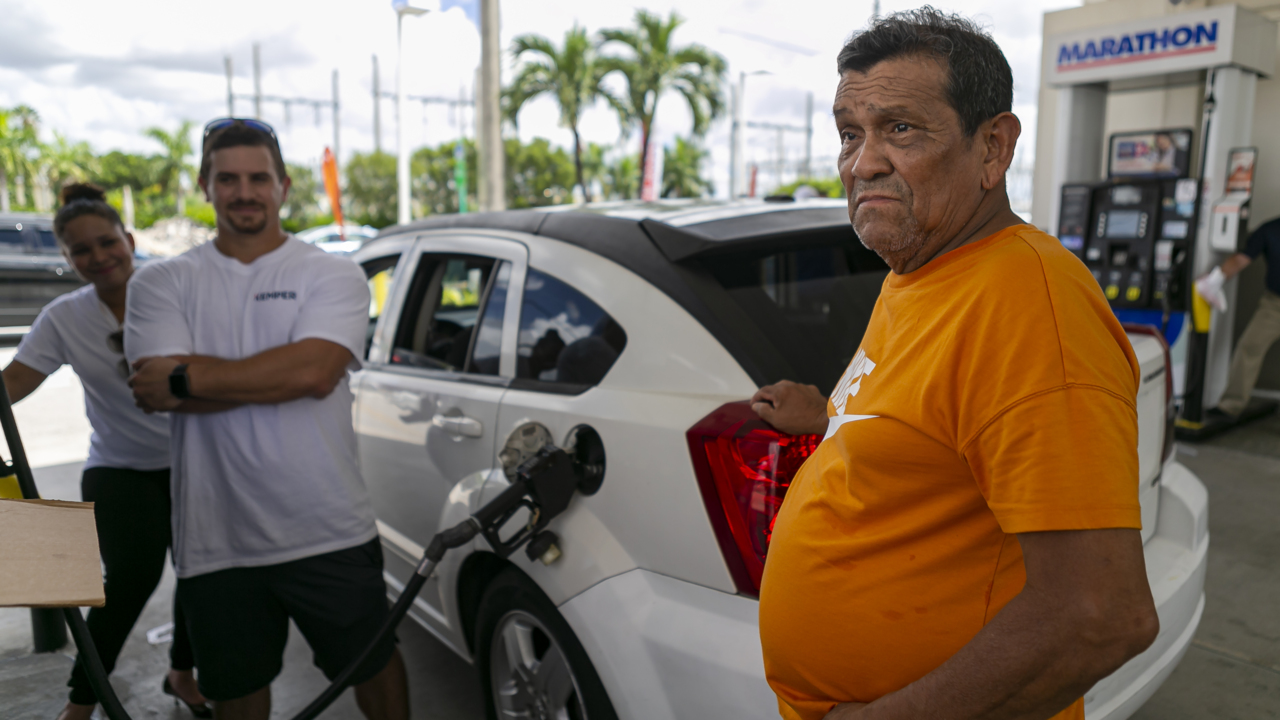 Drivers took a detour in Hialeah to get cheap gas. It was 99 cents a gallon