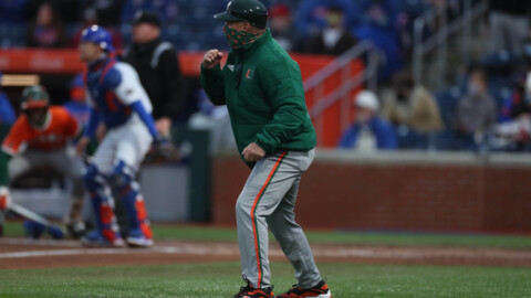 Hurricanes coach Gino DiMare expects a lot of tough competition in the ACC this baseball season