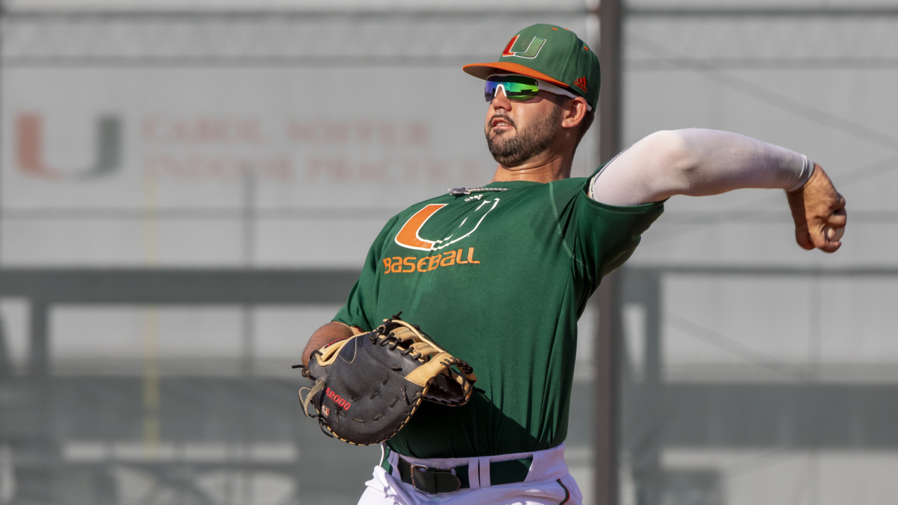 Miami baseball ranked No. 1, will meet No. 2 Florida Gators in weekend showdown at UM