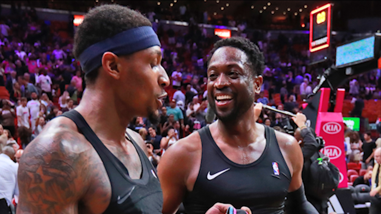 405399b2b94 Bradley Beal opened up about his admiration for Dwyane Wade