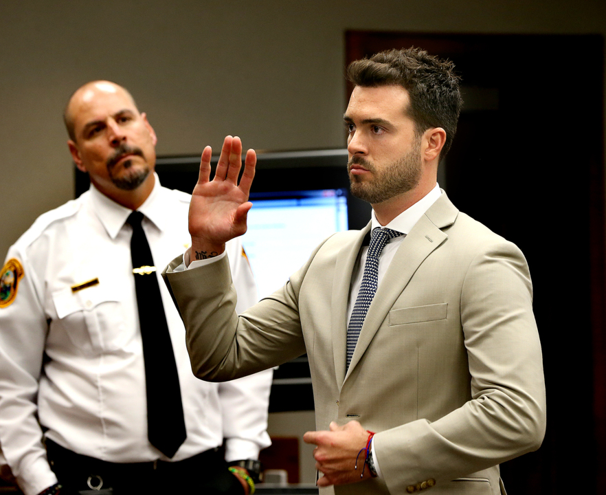 Mexican actor Pablo Lyle takes the stand, but judge refuses to dismiss road-rage death case
