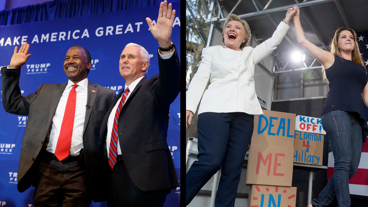 Clinton and Trump remain in dead heat in Florida, new poll shows